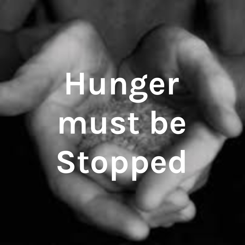 Why should we solve world hunger?