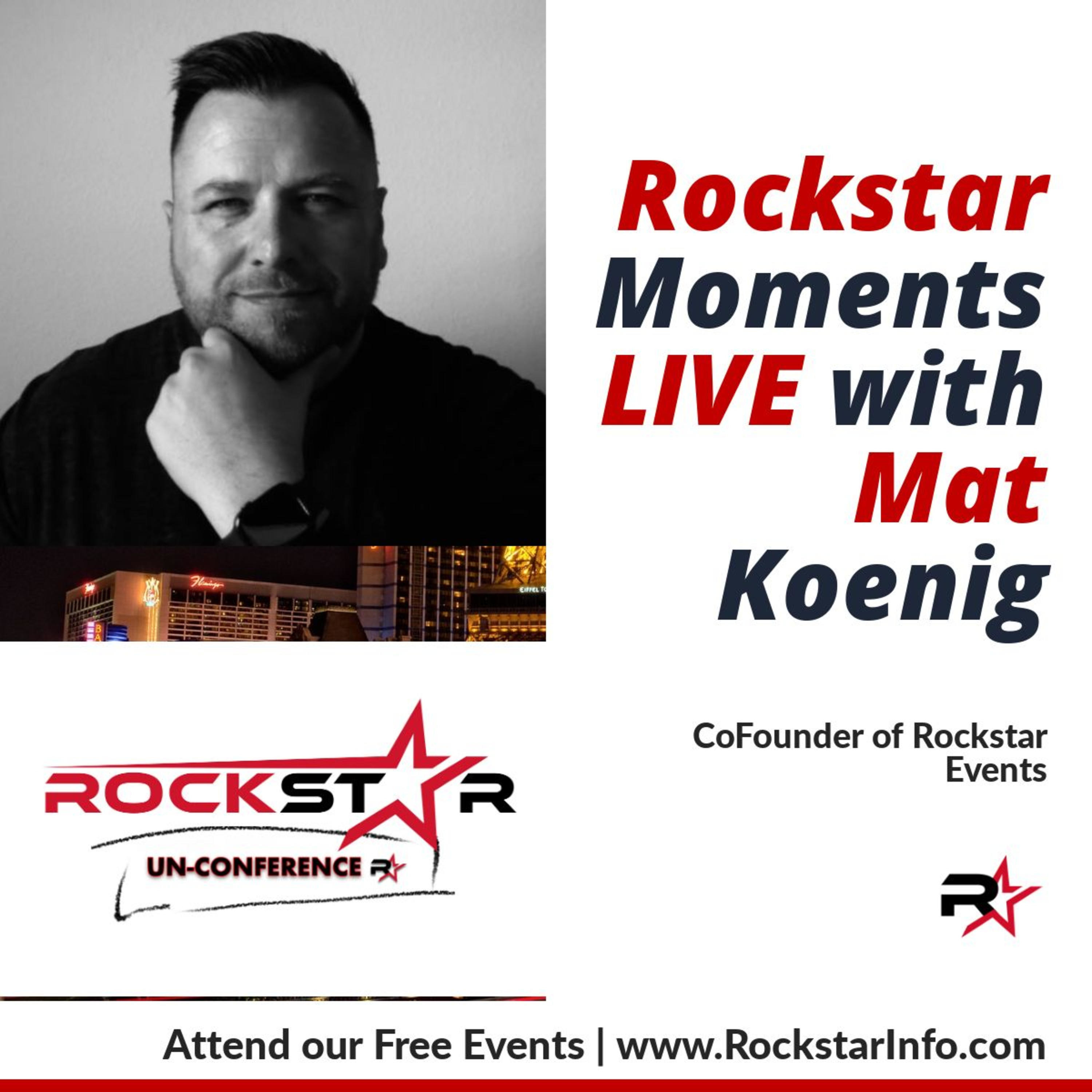 Rockstar Moments Live with Sean Welsh