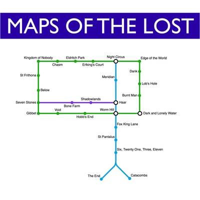 Maps of the Lost
