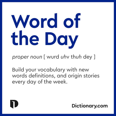 Word of the Day: September 26, 2021