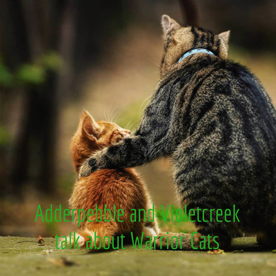 Cat Ships 1 Firestar And Cinderpelt By Adderpebble And Violetcreek Talk About Warrior Cats A Podcast On Anchor