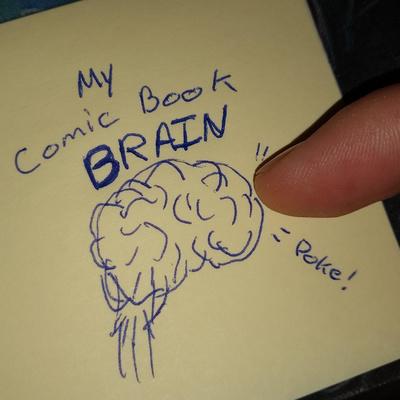 My Comic Book Brain