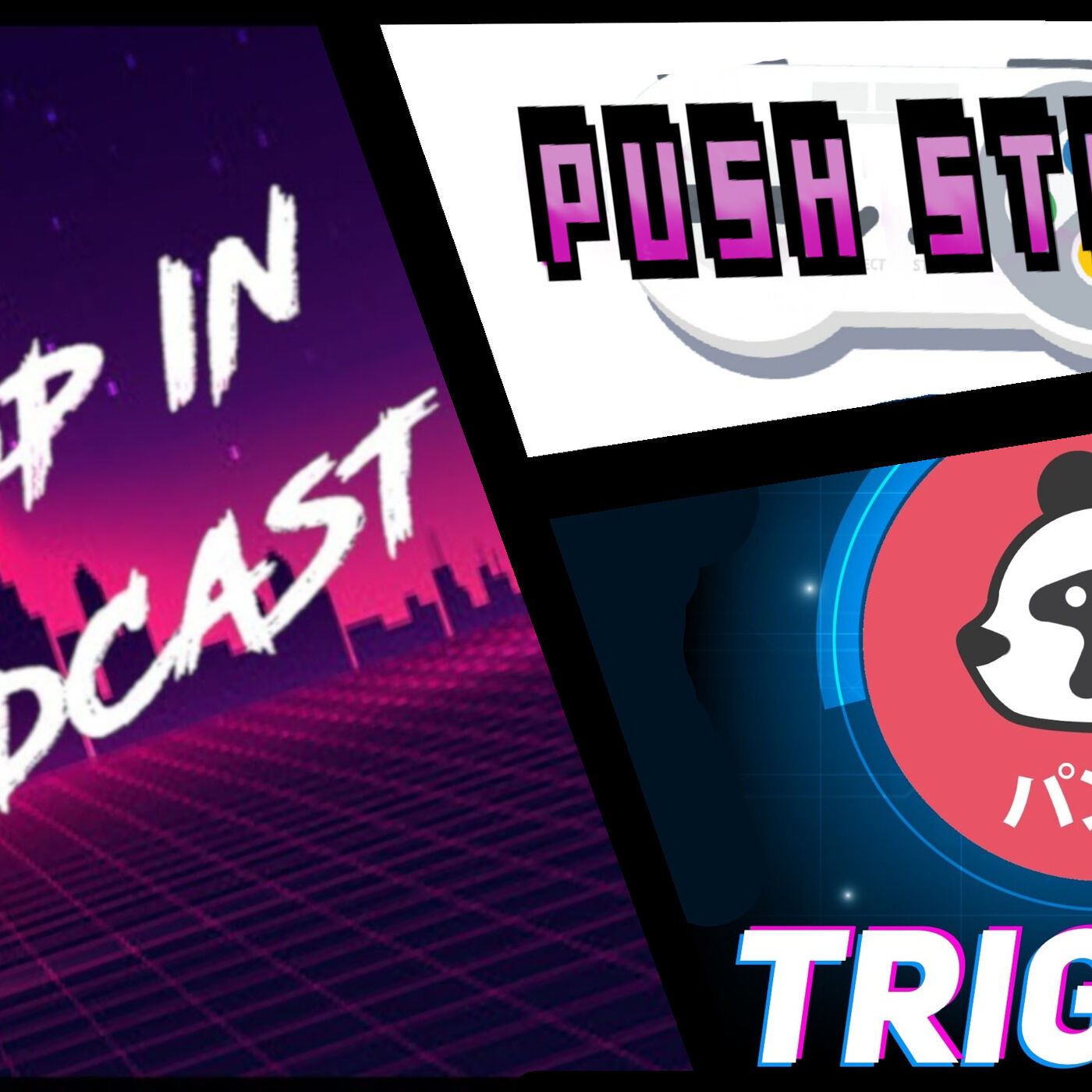 Push START EXTRA #3 - CrossCast 2 na 3 Feat. Drop IN Podcast, Trigger Podcast [Top 10 Gier 2020]