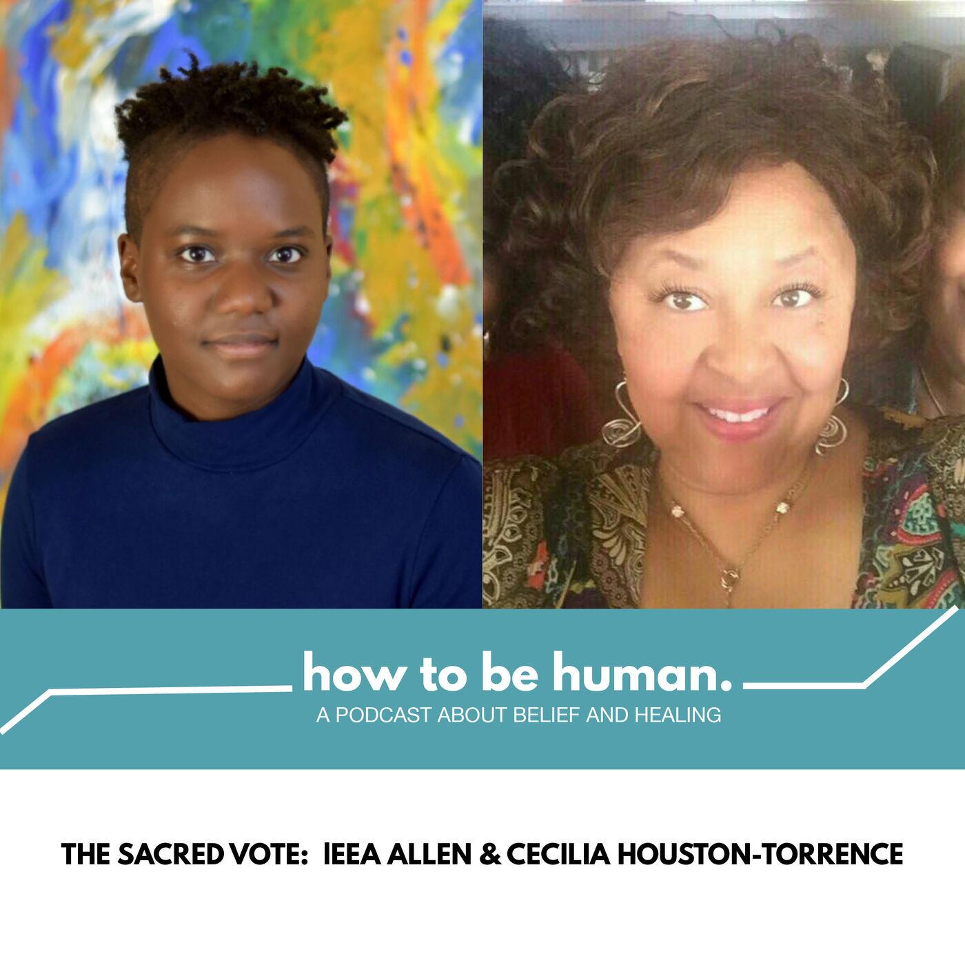 The Sacred Vote: leea Allen & Cecilia Houston-Torrence