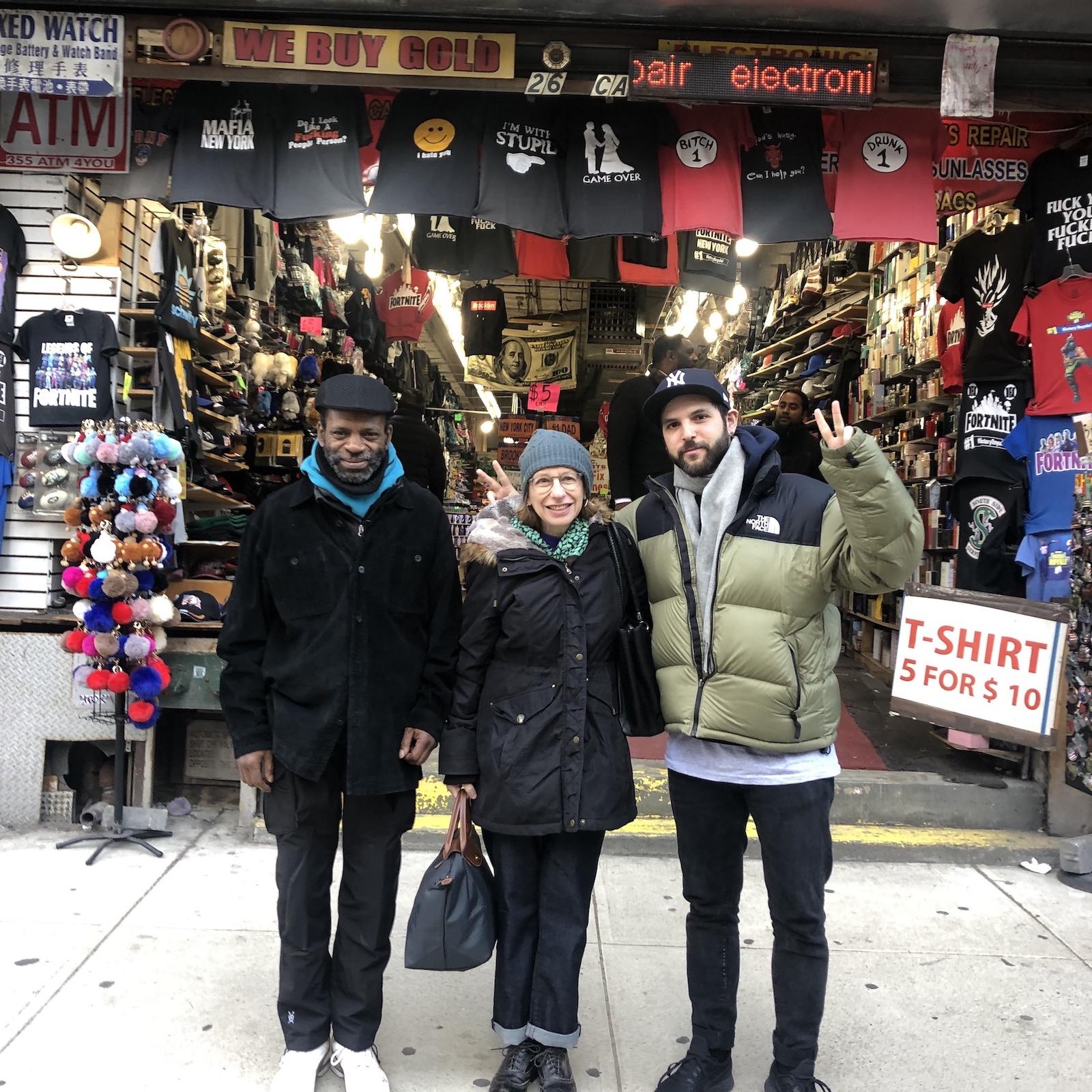 New York's Got Talent: Episode 11 - Roz Chast w/ co-host Tiger Hood