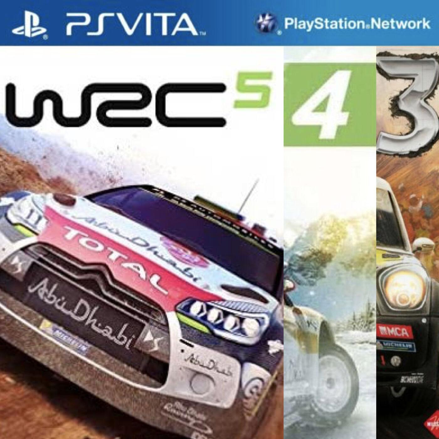 Bonus Stage: WRC on PS VITA
