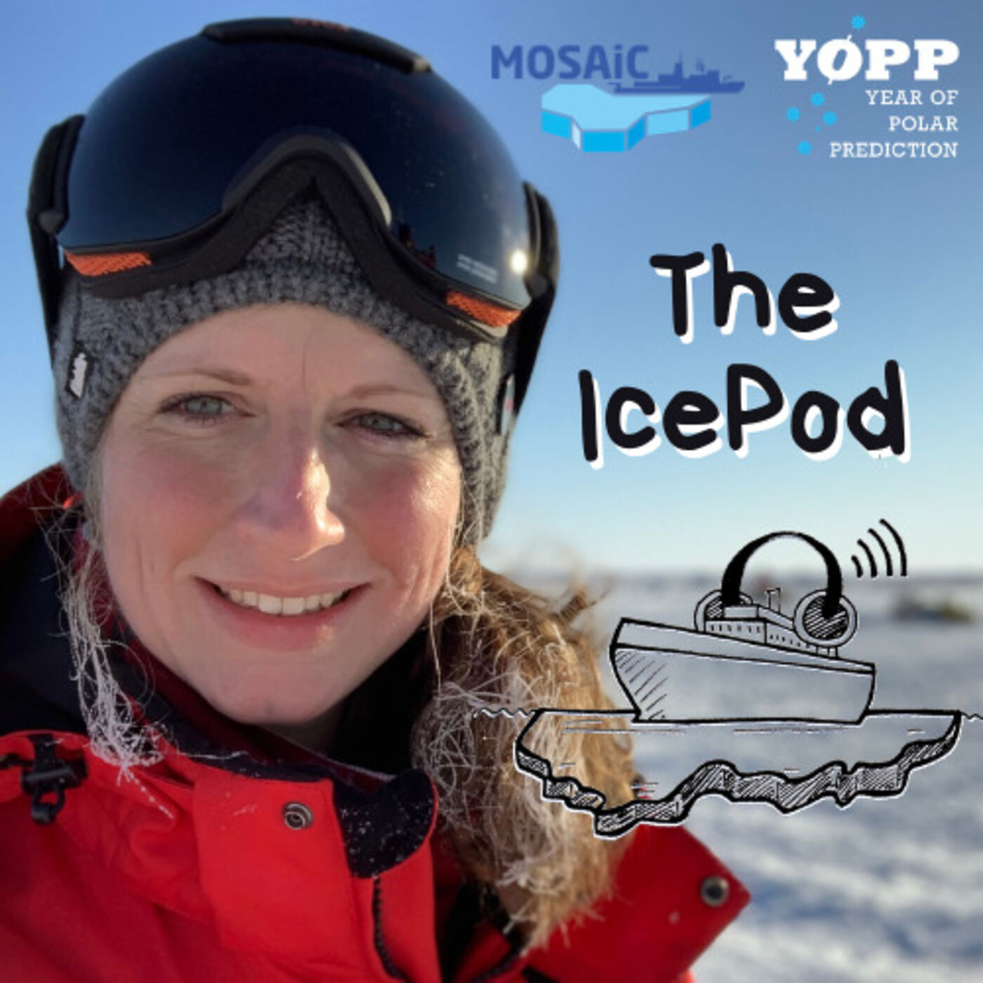 Episode Eight – Snowflakes, Pee Bottles and a Mosaic of Floes