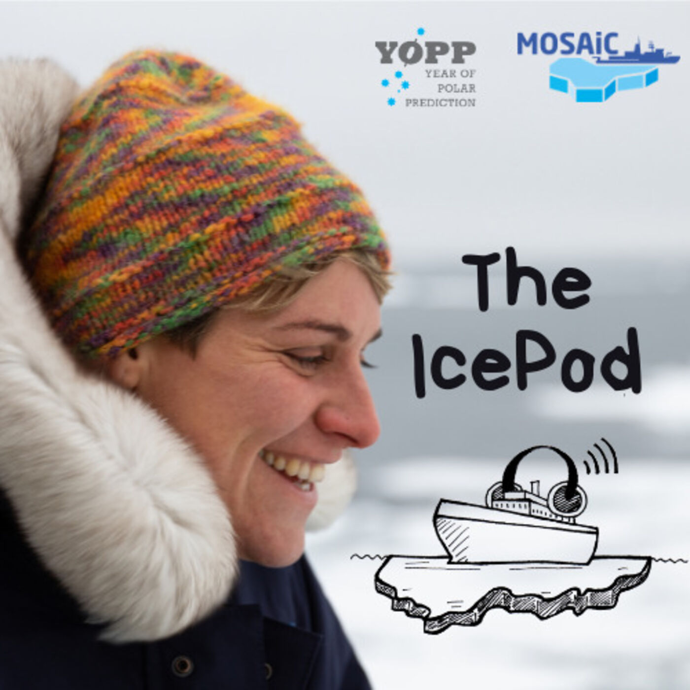 Episode Nine - Hugs, Dips in Melt Ponds, and WiFi on the Ice