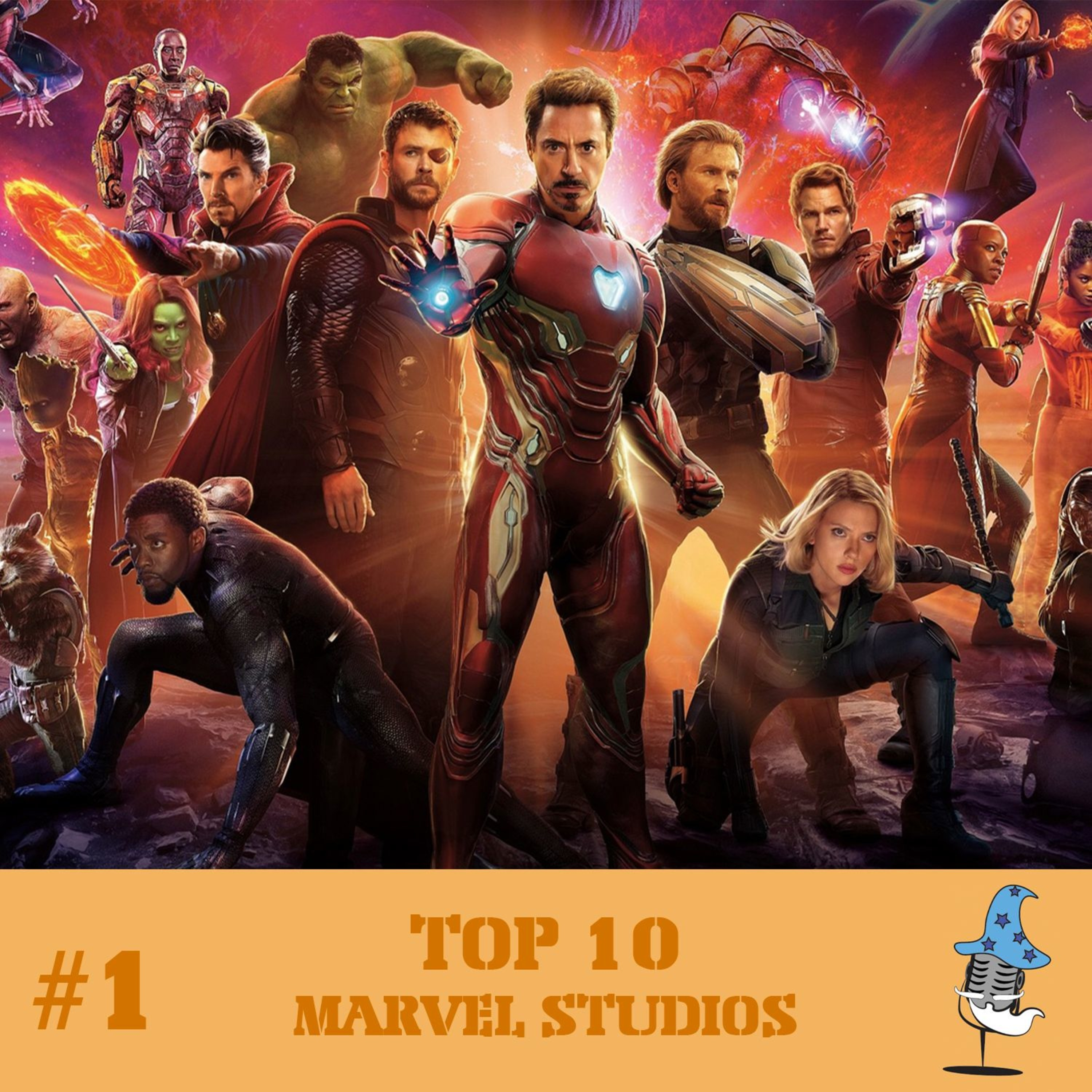PBDM #1 - Top 10 Marvel Studios