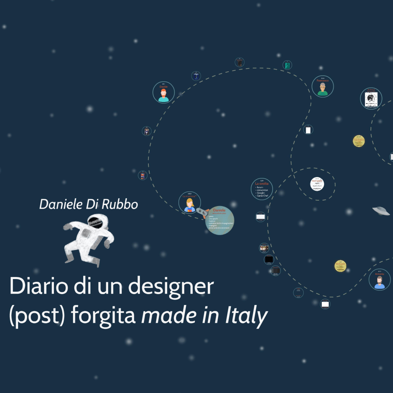 Diario di un designer (post) forgita made in Italy