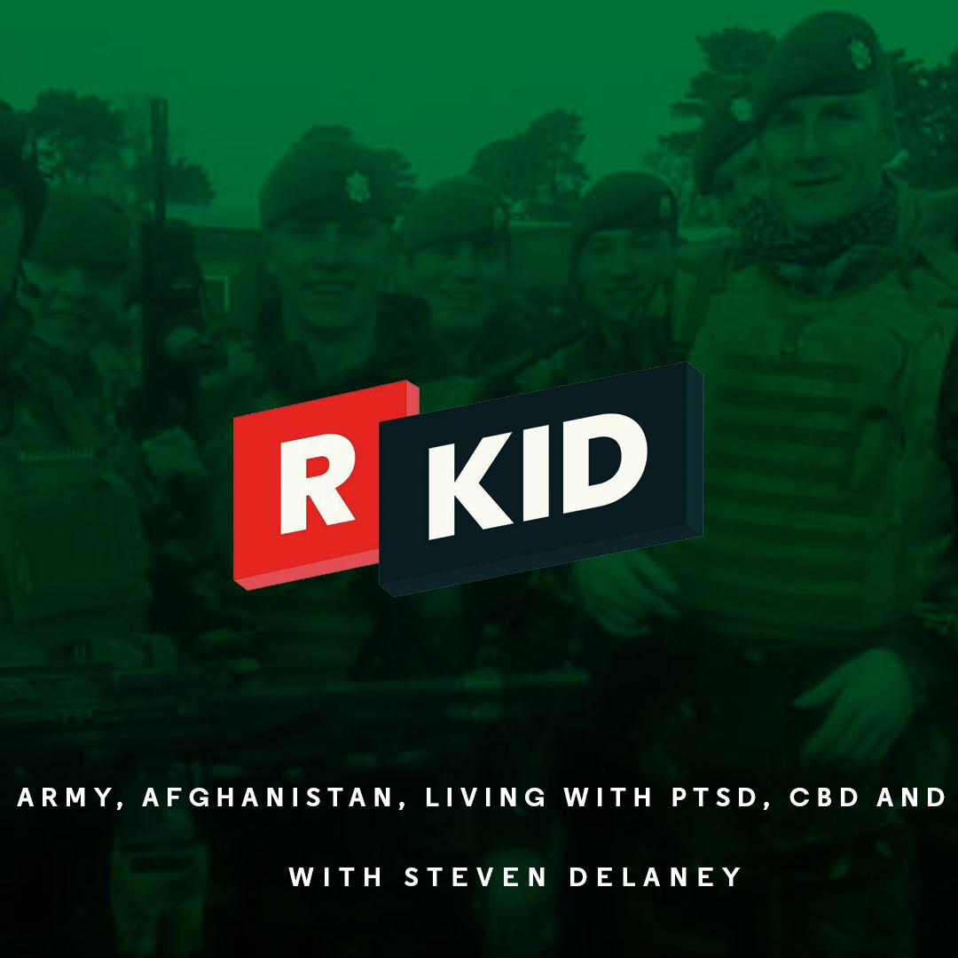 Fighting in Afghanistan and Living with PTSD | with Steven Delaney | R'Kid Podcast