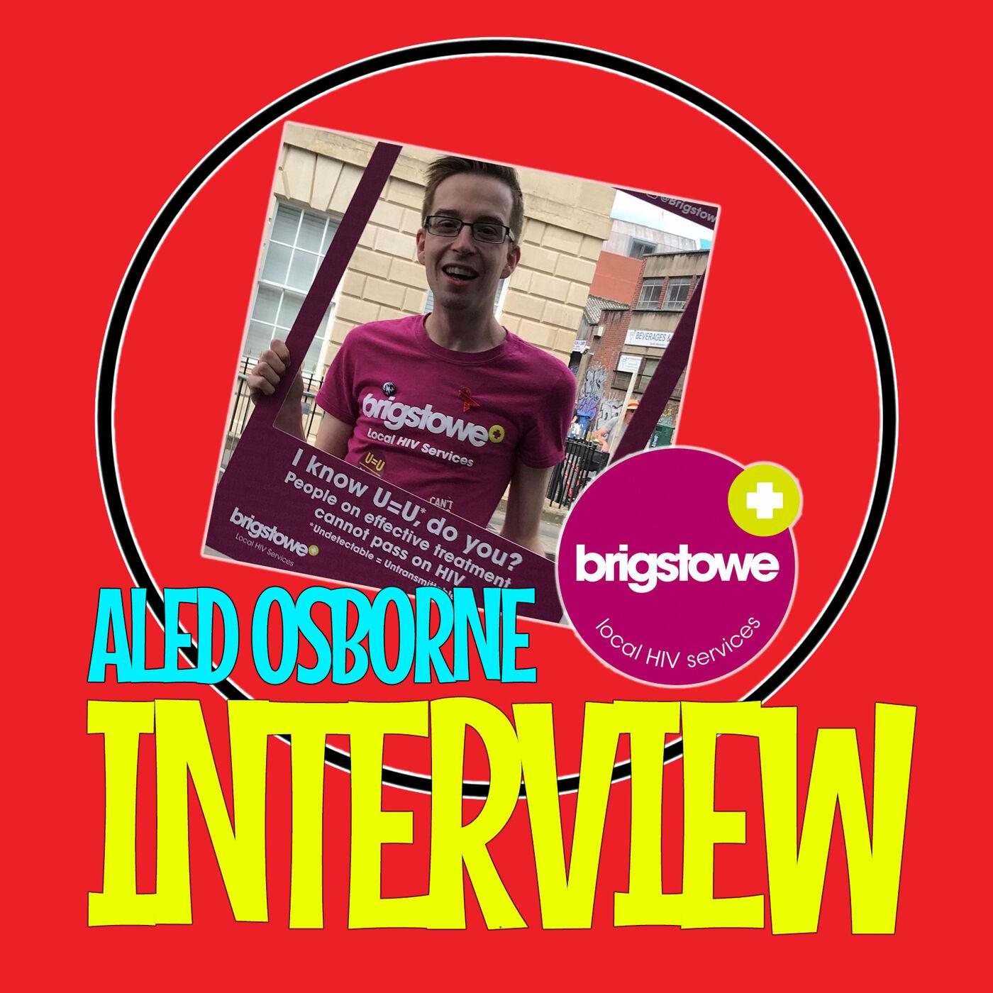 LGBT Q&A - Aled Osborne - Brigstowe HIV Charity - World Aids Day (Interview)