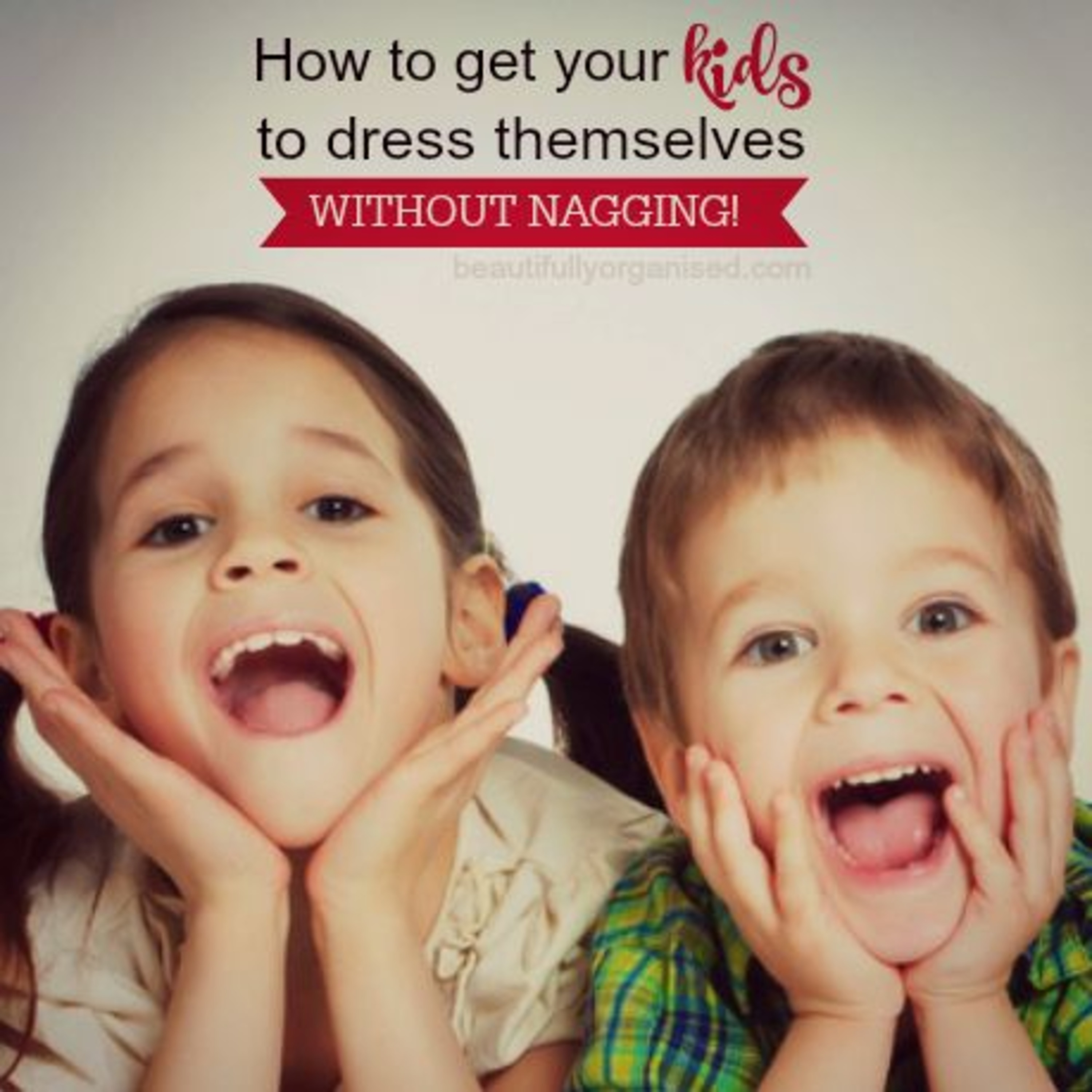 How To Get Your Kids To Dress Themselves Without Nagging