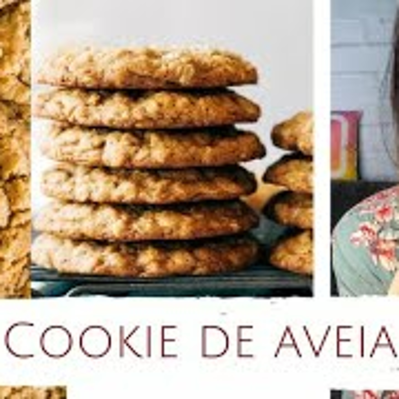 Cookie de Aveia Sem Glúten