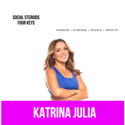 Ep 52: Social Steroids and the Four Keys by CREATE with Katrina Julia • A podcast on Anchor