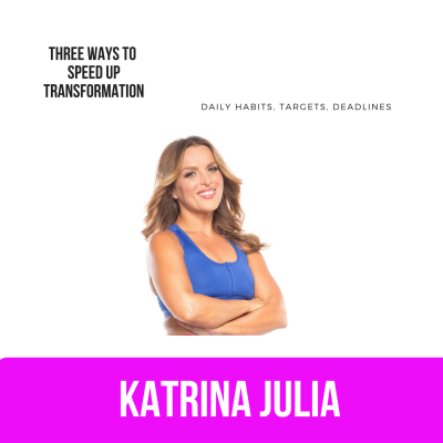 Ep 36: Three Ways to Speed Up Transformation by CREATE with Katrina Julia • A podcast on Anchor