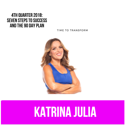 Ep 50: Fourth Qtr 2018: The 90 Day Plan by CREATE with Katrina Julia • A podcast on Anchor