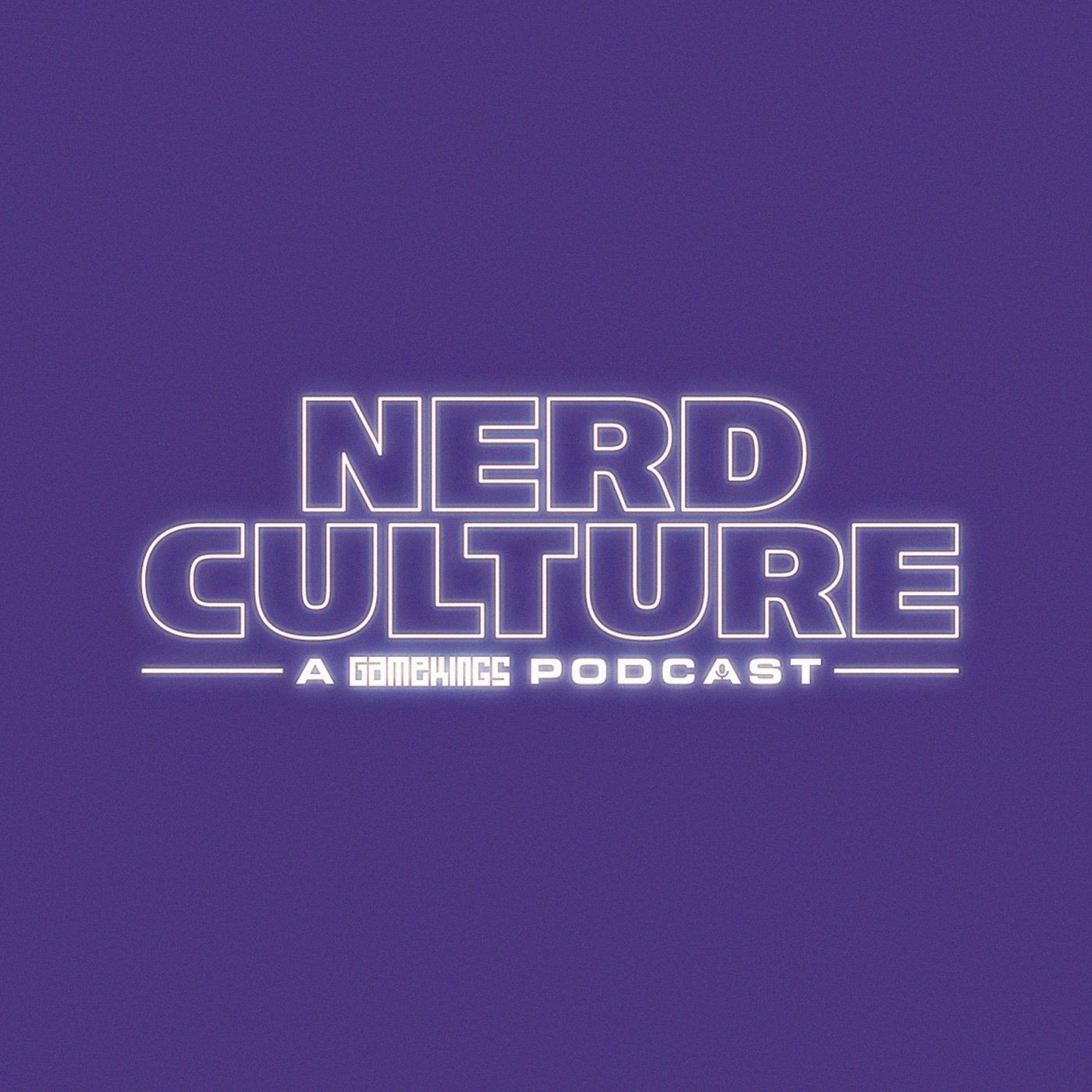 Nerd Culture - A Gamekings Podcast logo